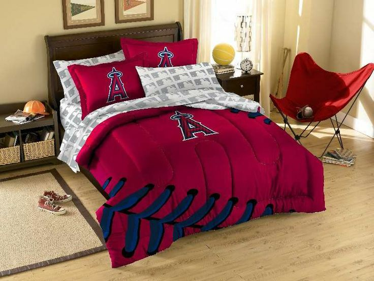 The Northwest Los Angeles Angels MLB Bed In Bag 9090 From Bedding