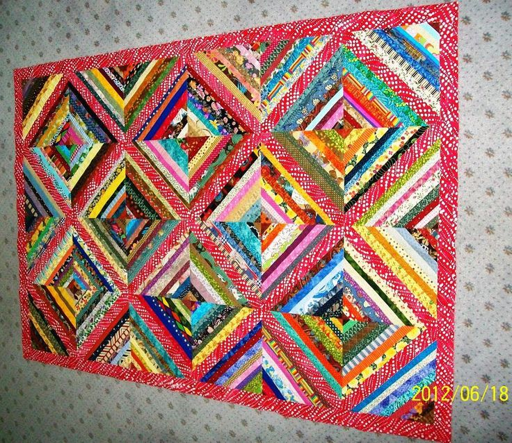 - Diamond on Point Quilt