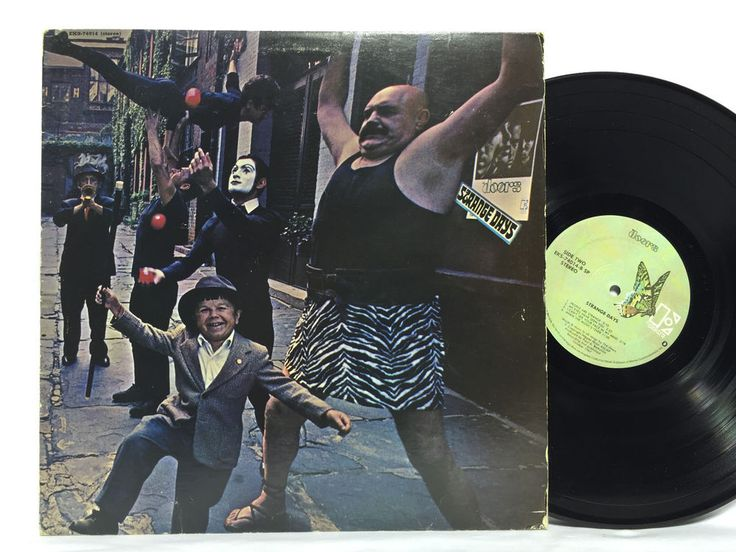 The Doors Strange Days Elektra Green Butterfly Label Vinyl Orginal EKS 74014 | Vinyl Records |