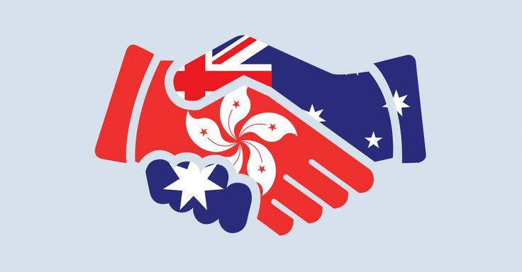 Handshake - Australia & Hong Kong