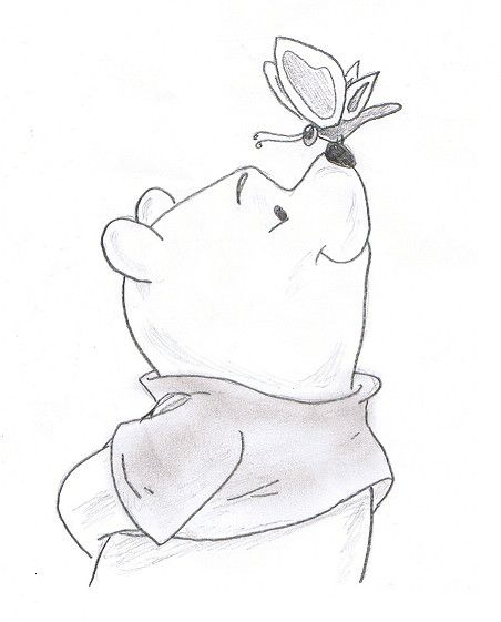 Best 25 winnie the pooh drawing ideas on pinterest simple winnie the pooh by haoasakura16iantart on deviantart voltagebd Gallery