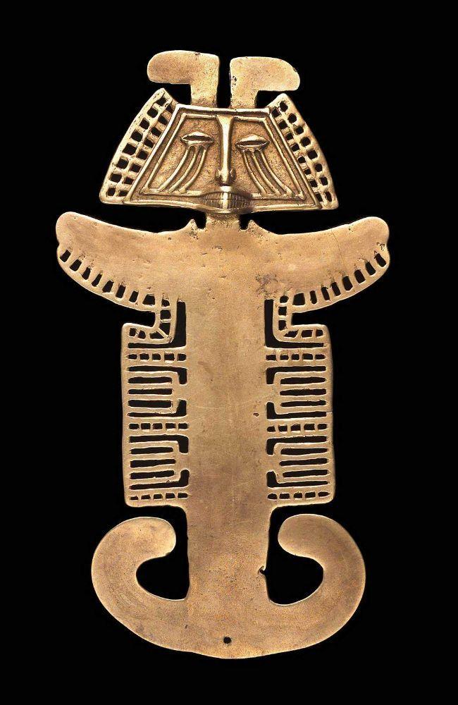 Pendant Tolima , A.D. 1–550 - Gold -1