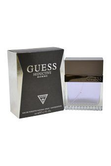 Guess Seductive Eau De Toilette Spray for Men, 1.7 Ounce by GUESS. Save 51 Off!. $25.74. 1.7 oz. EDT. Men. Launched by the design house of Guess in August 2011. The fragrance contains woody, aromatic, and fougere notes. It is intended for seductive, charming, charismatic ,and magnetic men.
