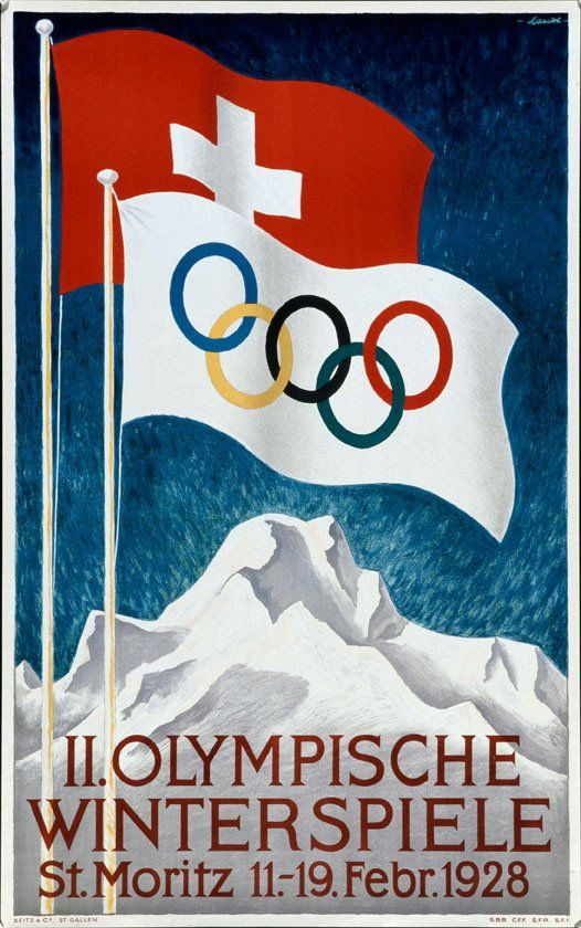 1928 Winter Olympics - St. Moritz, Switzerland | All Things Olympic | Pinterest | Olympics, Switzerland and Winter