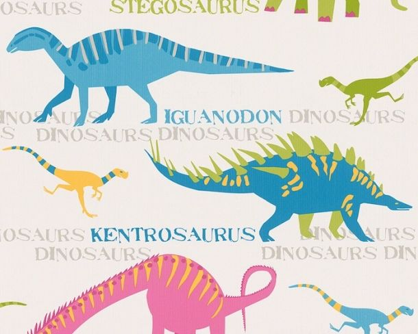 RAWR eurowalls Dino paper from our Boys & Girls 4 2015 wallpaper collection.