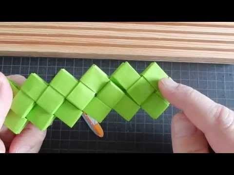 sammen-flettet dobbeltbund - YouTube