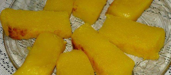 Resep makanan kue Jenang Jagung.  Selain sangat lembut, enak dan lezat serta menggugah selera untuk menikmatinya. Jenang Jagung ju...