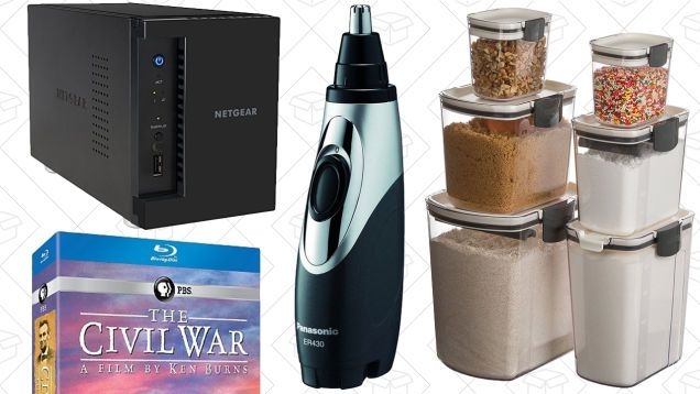 Today's Best Deals: Storage and Networking Gold Box Grooming Supplies Food Storage and More