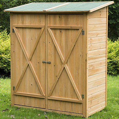 Meuble armoire abri de jardin rangement outils exterieur for Armoire rangement exterieur