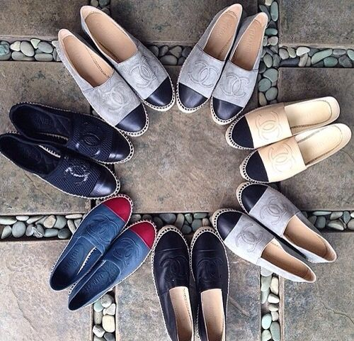chanel espadrilles one pair down, 6