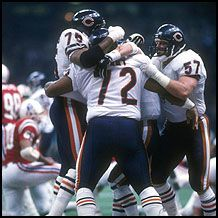 superbowls | William Perry (72) and the Bears did the Super Bowl Shuffle up and ...