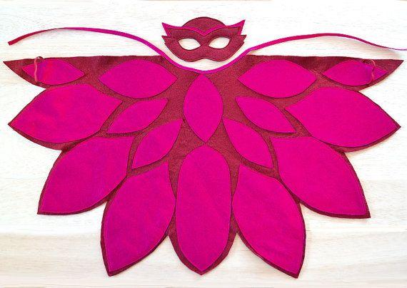Traje de Owlette, Owlette PJ máscara y ala cabo, niño y preescolar Halloween traje