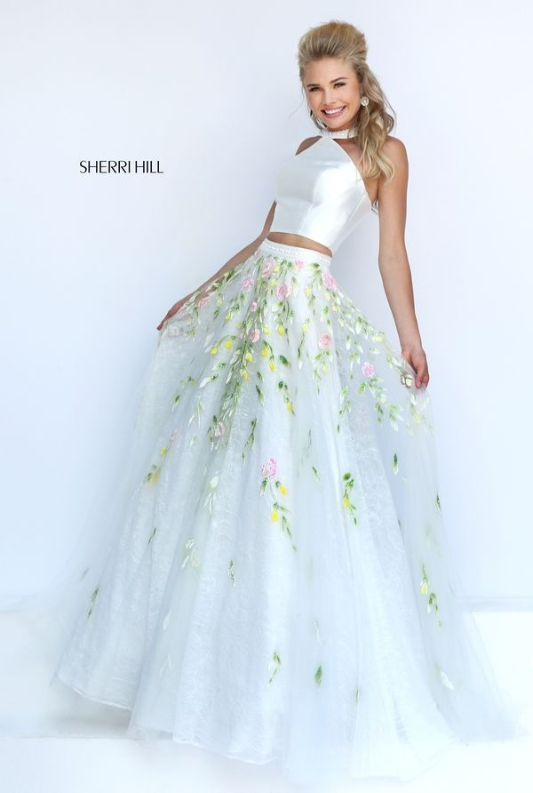 "Sherri Hill 50196 | ""Trendy, Unique and Affordable"" - That is the main philosophy at Bling Boutique in Milford, MI! Stop by our store to find some fashionable items that will spice up your wardrobe! Call (248) 685-8449 for more information!"