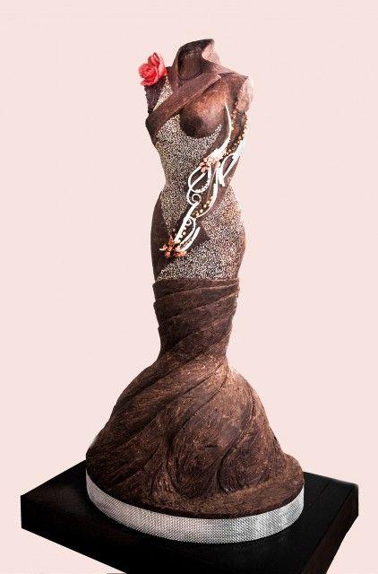 Sculpture phénoménale de Léonidas au Salon du chocolat
