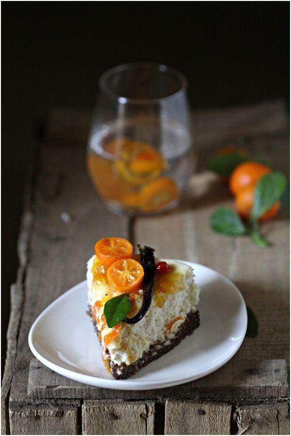 Kumquat Tarts With Almond-Date Crust Recipe — Dishmaps