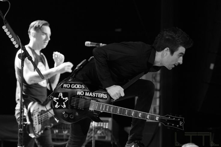Justin Sane from Anti-Flag, The Factory Theatre 8/12/16