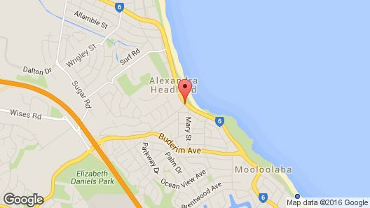BreakFree Alexandra Beach Map
