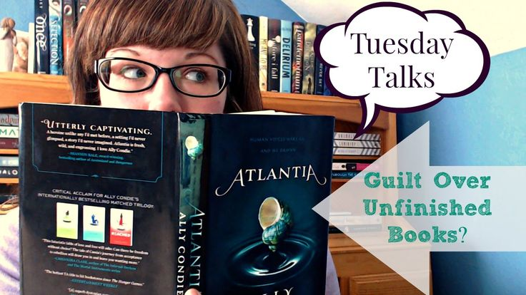 Do you feel guilt over unfinished books?