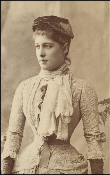 Mrs Langtry.  W Downey Photographers