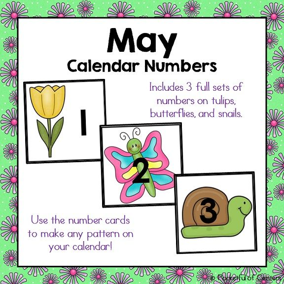 May Calendar Numbers : Best images about calendar numbers on pinterest