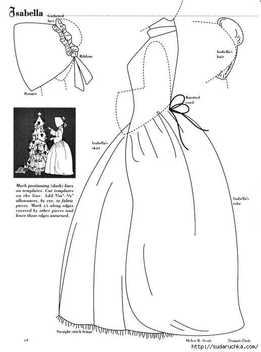"""""""Bonnet Cirls - Patterns of the Past"""". Rezerwuj w patchworku .. Dyskusja na liveinternet - Pamiętniki rosyjskie usługi online"""