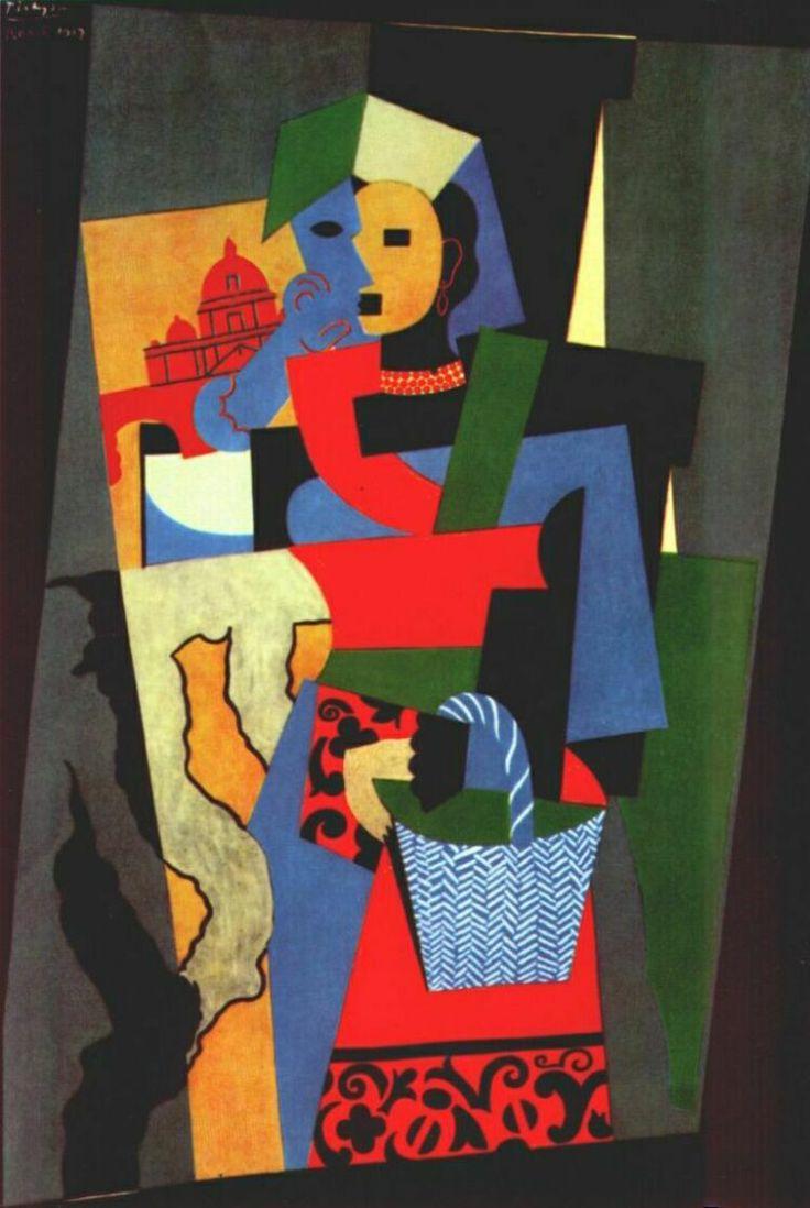 Pablo Picasso - Italian Girl
