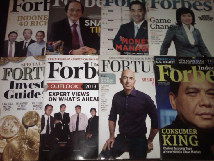 Majalah forbes dan fortune