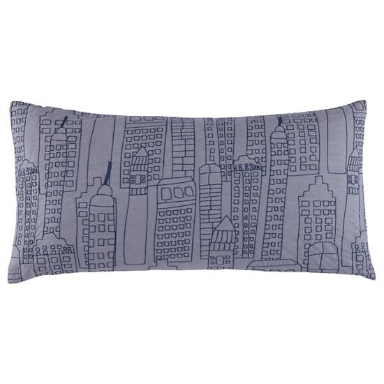Midtown throw pillow from Land of Nod