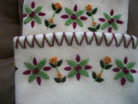 Inuit embroidered by Sue Eecherk