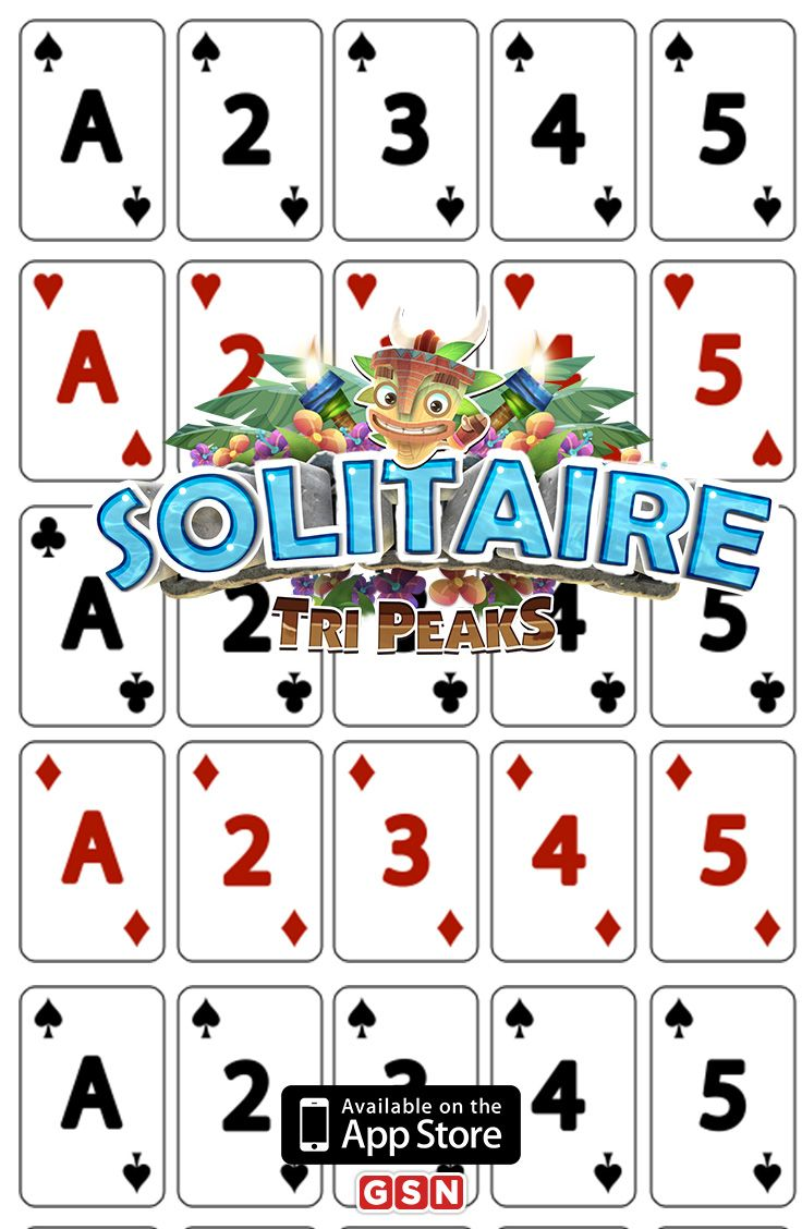 Play the hottest solitaire game around and download Solitaire TriPeaks today! Play this popular game and challenge yourself with over 850 levels.�