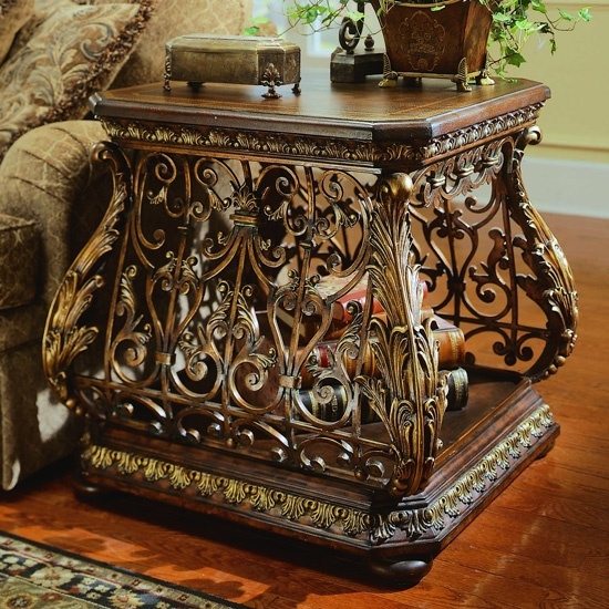 Conquistador Accent End Table From Pulaski Furniture Furniturexo.com
