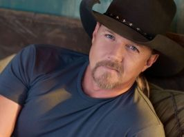 Trace Adkins.  One of the few country singers I like...don't care much for country music.