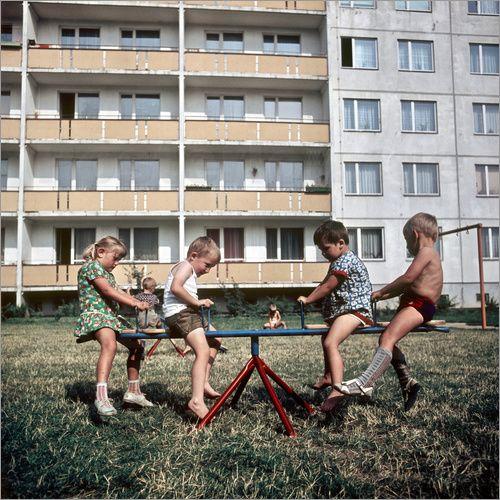 Kindergarten Halle-Neustadt 1969