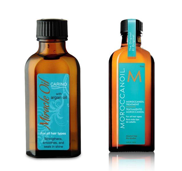 Moroccan Oil V Miracle Oil (Aldi!)