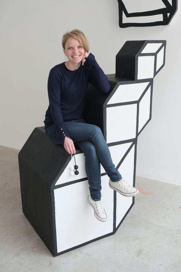 Na nábytku Jiřího Georg Dokoupila / Art furniture made by Jiri Georg Drahokoupil | Exhibition of the Furniture For Fotos