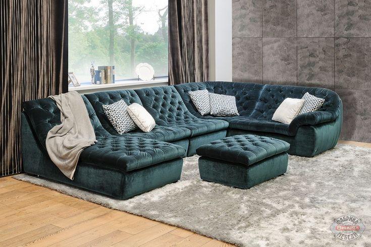 Модульный диван Миднайт коллекции Selecta, цены и фото   Купить модульный диван со скидкой в Москве