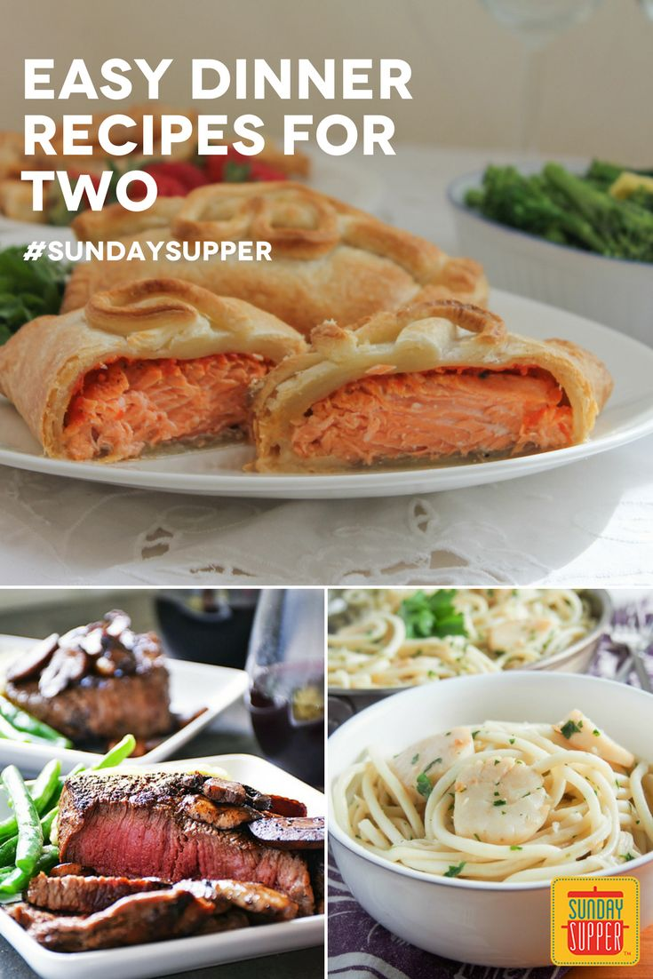 cooking for two is easy with this collection of sunday supper