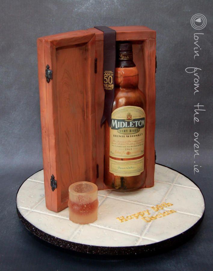 Birthday Cake Whisky In Wooden Box