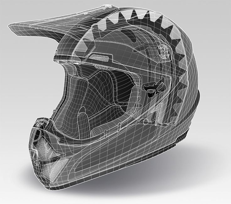 KALI Helmet Illustrations - Technical Illustration - Jim Hatch Illustration