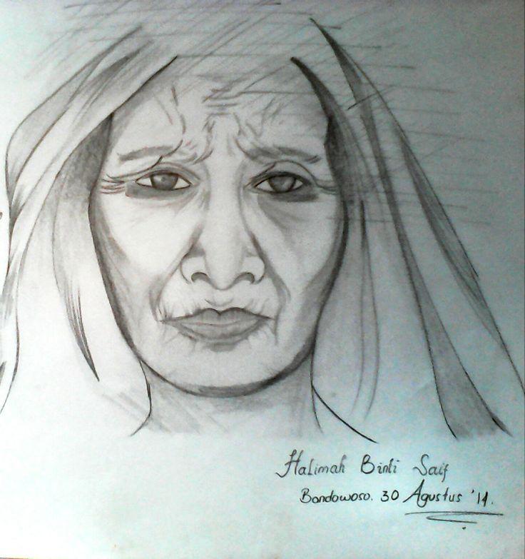 sketch by lilu binti saif