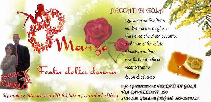 Miky & Carlo: Festa della Donna 8 Marzo