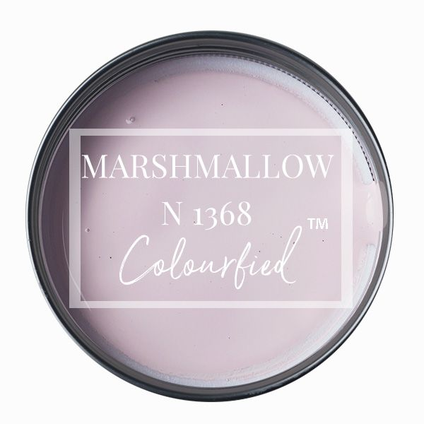 Colourfied's new colour - Marshmallow