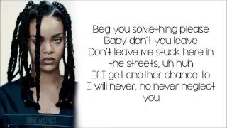 Rihanna - Work ft. Drake (lyrics) - YouTube