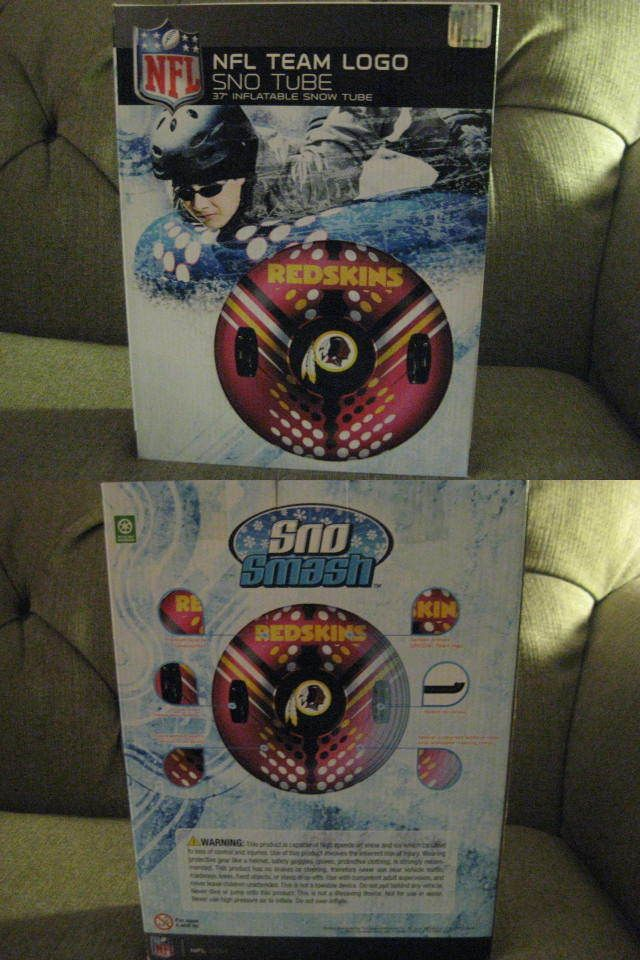 Sleds and Snow Tubes 59892: Nfl Redskins Sno Tube -> BUY IT NOW ONLY: $40 on eBay!
