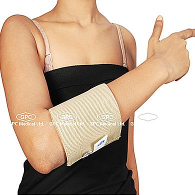 Elastic Elbow Support: GPC Medical Ltd. - Exporter & Manufacturers of Elastic elbow support, elastic elbow brace, mueller elastic elbow support from India.