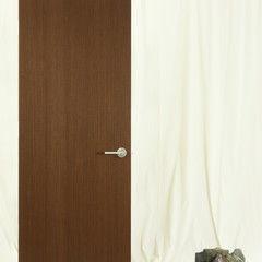 Eclectic interior doors by Lynden Door - reconstituted wenge