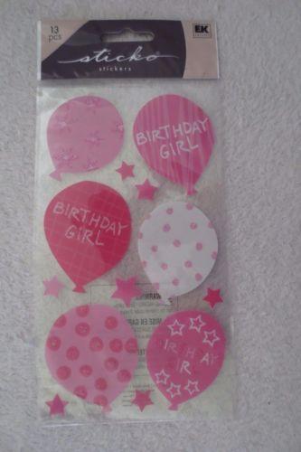 Ek-Success-Sticko-Birthday-Girl-Balloons-Stickers-New