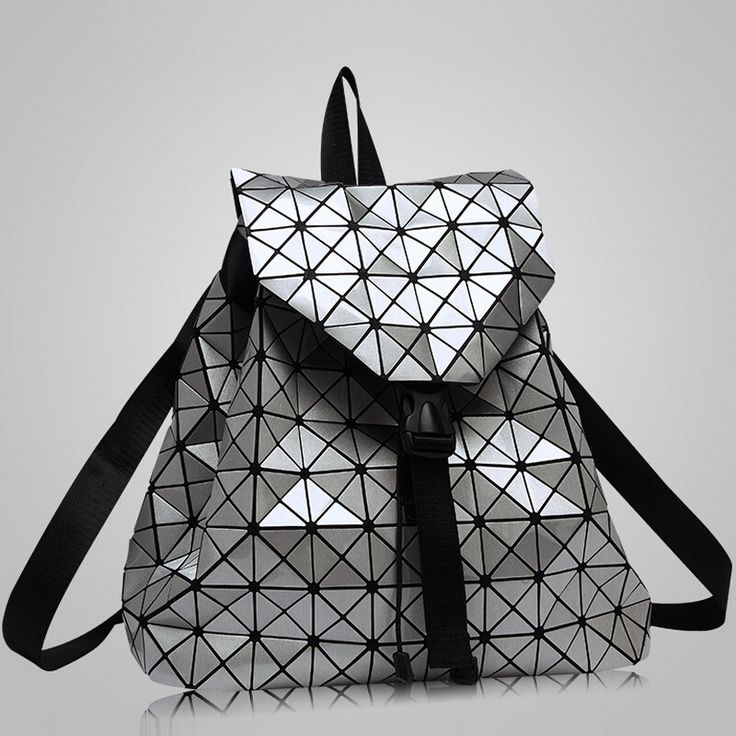 New Fashion Diamond Lattice Backpack For Teenage Girls