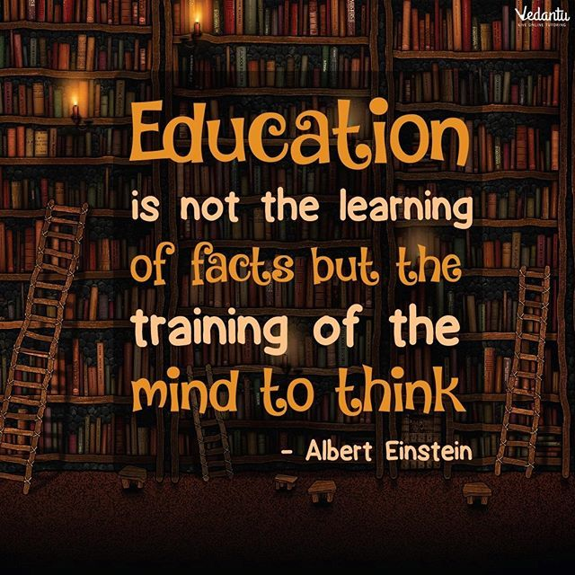 Here's some motivation to get started on the day and the week. Happy week, all! #mondaymotivation #instamotivation #inspirationalquotes #monday #einstein #education #onlinetuitions