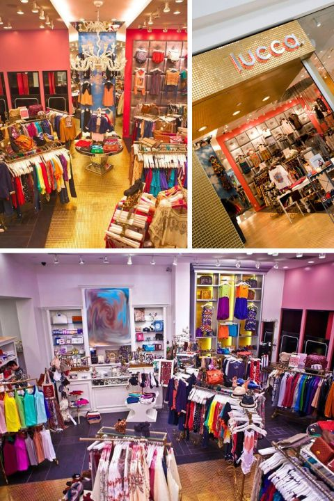 Penn Square Mall1901 NW ExpresswayOklahoma City, Oklahoma405.879.9876facebook.com/luccafashionboutiqueWhy you'll love it: Lucca introduces east and west coast trends to the Midwest—and their styling service will show you how to wear them.  What you'll find: AG Adriano Goldschmied, Ben Sherman, Howe, LnA
